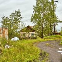 Жилой дом, здесь живет смотритель подстанции. Усть-Таскан. 2017 год.