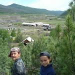 Поселок Стан-Утиный (Утиный). Вид на подсобное с детсадовской сопки