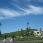 Поселок Стан-Утиный (Утиный). Вид на место, где стояла школа