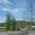 Поселок Стан-Утиный (Утиный). Здесь была школа. 2010 год
